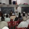 Maulana Rafiq Qasmi and Abdul Qadir sahab addressing JIH cadre meeting at Pusad