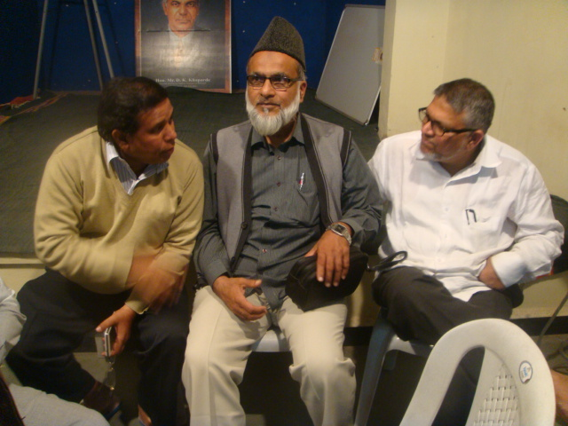 Amir e Halqua  with BAMCEF National President Mr Waman Meshram in Pune