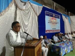 Dr Nadim (Nagar Parishad Pusad) addressed