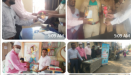Book stall in Akola And invitational meetings in different parts of the city.