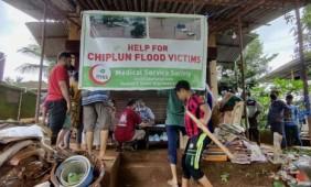 JIH Maharashtra Dedicated Volunteers On Flood Ground zero